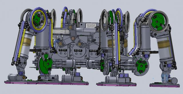 Модель робота