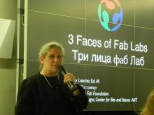 Sherry Lassiter, руководитель проектов «Центра битов и атомов», Массачусетский технологический институт (MIT)