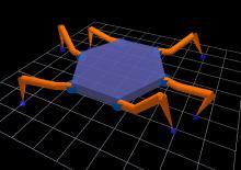 3D Модель гексапода